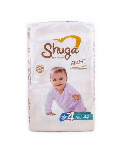 Подгузники Shuga Maxi 7-18кг 44шт 1024