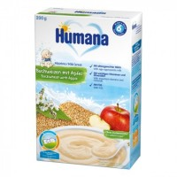 Каша молочная гречневая с яблоком Humana 250г 775580