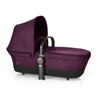 Люлька Priam Carry Cot RB Mystic Pink-purple (дождевик+бампер)