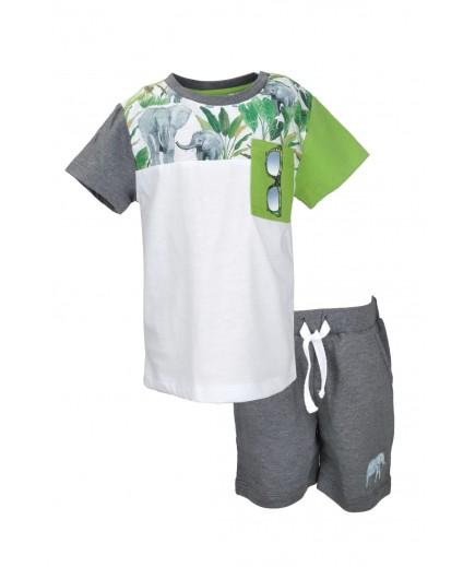 Комплект (футболка+шорты) 74-104 Mininio 01M1IZG77