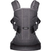 Рюкзак Baby Bjorn Baby Carrier ONE denim grey cotton mix 098094